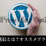 Ping送信とは?WordPress Ping Optimizerの設定と使い方