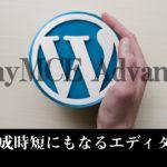 TinyMCE AdvancedでWordPress記事作成をスピードアップできる?