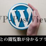 記事の閲覧数を表示させるWP-PostViewsの設定方法は?